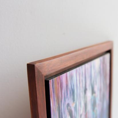 Print on Wood, Framed